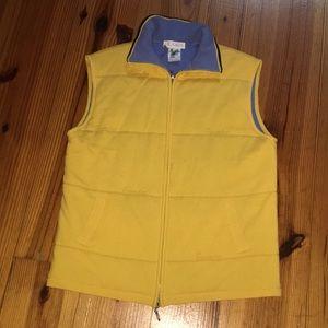 Yellow and blue ESCADA vest